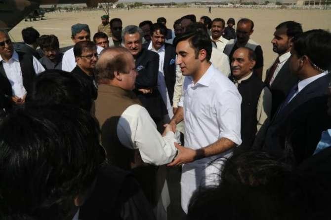 Nawaz Sharif N Sindh K Awam K Dil Mooh Liye