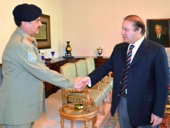 Wazir e Azam or Army chief Ko Operation K Elawa