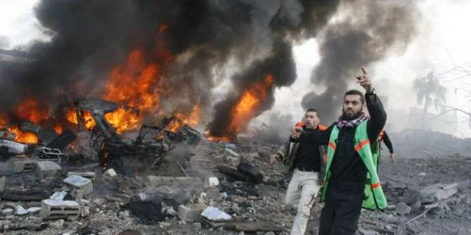 Gaza Main Insaniyat Lahu Main Naha Gaye