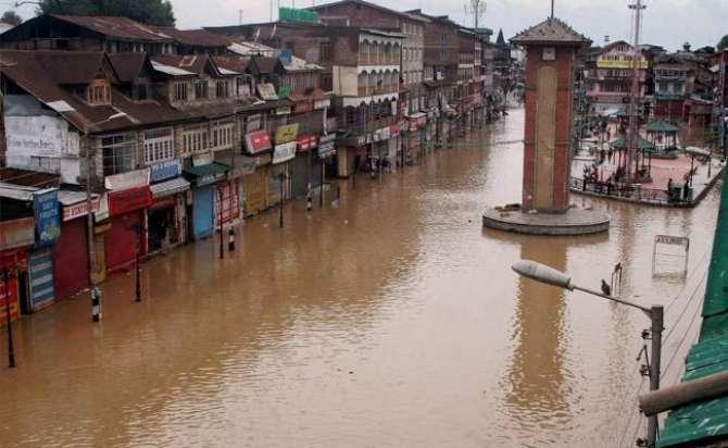 Maqboza Kashmir Main Selaab