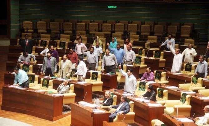 Naye Sobe Ka Mutaliba Sindh Assembly Main Talkhi