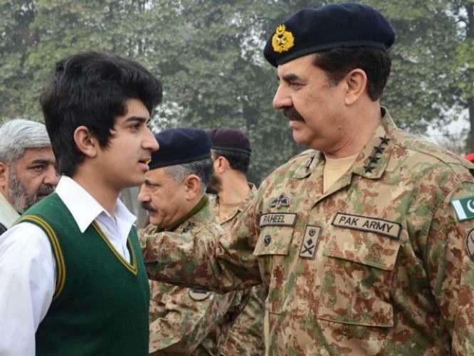 Army Chief Ka Army Public School Ka Dora