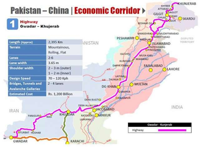 Pak China Economic Corridor Rout Main Tabdeeli Ka Andesha