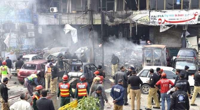 Police Lines Suicide Blast