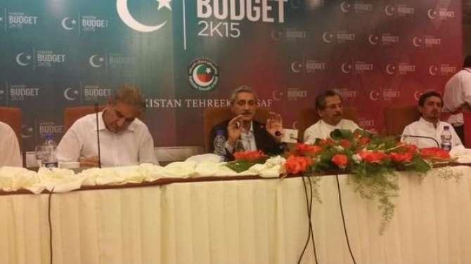 PTI Ka Shedow Budget