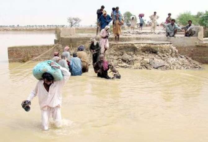Janobi Punjab Phir Seelab Ki Zad Main