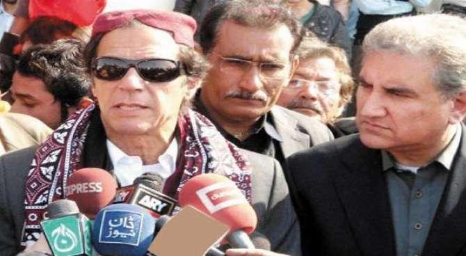 Imran Khan K Sindh K Dorre