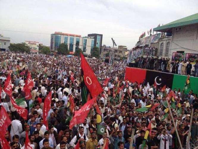 PPP Ka Rahim Yar Khan Main Siasi Power Show Ka Faisla