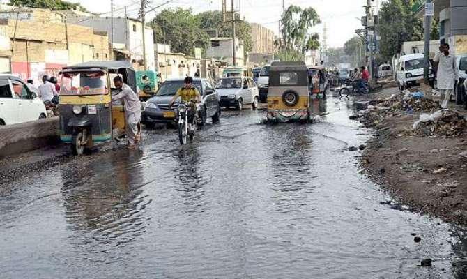 Karachi Sewerage Ka Nizaam Darham Barhaam