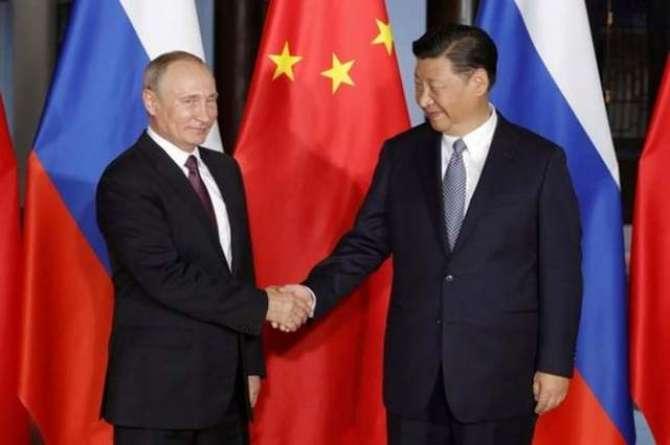 China russia Ittehad america ky liye barha challenge