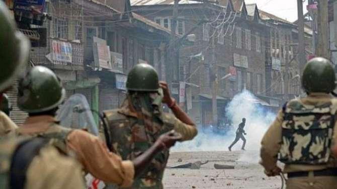 masla Kashmir, Bharti jangi junoon, nataij aur sefarshat