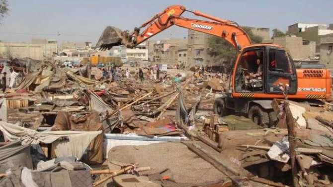 Tajawzat Ke Khilaf Operation Per Sindh Hakomat Ki Phurtiyaan