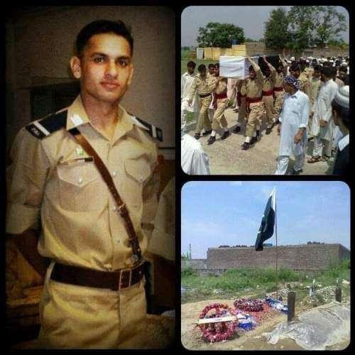 Waten Ka Shehzada Beta Lieutenant Umair Wardag Shaheed