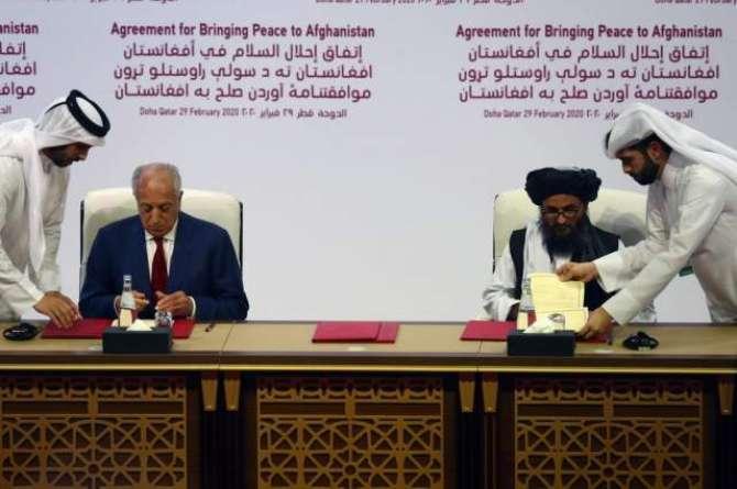 America Afghan taliban ka moahida