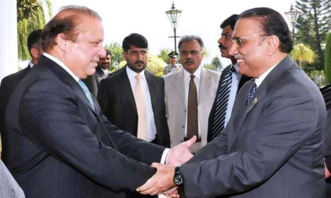Muslim League (N) aur PPP aik safha par