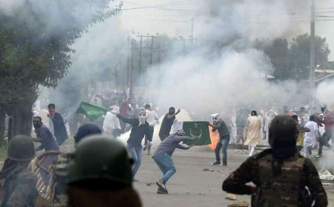 azadi Kashmir ki tehreek ko dabaya nahi ja sakta