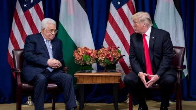 Palestiniyoon Ki Americi Sadar Ko 10 Arab Dollar Ki Peshkash