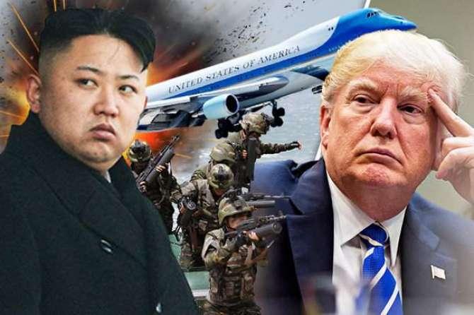 shamali korea america ke liye Bara Jhori khatra