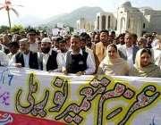 مظفرآباد، زلزلہ زدگان سے اظہار یکجہتی کے لئے وزیر اعظم آزاد کشمیر کی ..