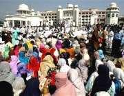 اسلام آباد، زلزلہ متاثرین حکومتی بدعنوانیوں کے خلاف وزیر اعظم ہائوس ..