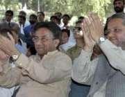 بالاکوٹ، صدر جنرل مشرف زلزلہ زدگان کی یاد میں منعقدہ تقریب میں مقررین ..