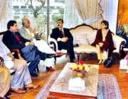 اسلام آباد، سید یوسف رضا گیلانی وفاقی وزرائ اور اراکین اسمبلی سے ملاقات ..