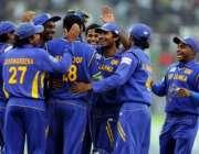 پاکستان اور سری لنکن ٹیموں کے مابین کھیلے جانے والے تیسرے اورآخری ون ..