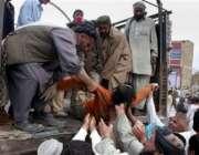 کوئٹہ،کنٹینر میں دم گھٹنے سے ہلاک ہونیوالے افراد کی نعشیں ایک ٹرک پر ..