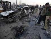 پشاور،سیکورٹی اہلکار پشت خرہ کے قریب چیک پوسٹ پر ہونیوالے خودکش حملے ..