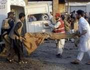 پشاور،پشت خرہ کے قریب پولیس چیک پوسٹ پر ہونیوالے خودکش حملے میں زخمی ..