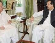 اسلام آباد،18ویں ترمیم عملدرآمدکمیشن کے سربراہ سینیٹر رضا ربانی وزیراعظم ..