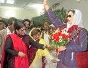 حیدرآباد،صوبائی وزیرسسی پلیجو سندھ میوزیم کے دورہ کے موقع پر بینظیر ..
