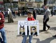 قاہرہ،مصر کے دارالحکومت قاہرہ میں حکومت اور صدر کیخلاف احتجاجی مظاہرے ..