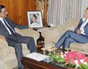 اسلام آباد، سویڈن کی سفیر یوریکا سنڈبرگ صدر آصف زرداری سے ملاقات کر ..