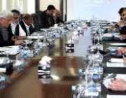 اسلامآباد، وزیرخزانہ عبدالحفیظ شیخ نیشنل فنانس کمیشن کے اجلاس کی ..