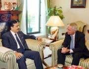 اسلامآباد، امریکی سفیر کیمرون منٹر وزیرعظم یوسف رضا گیلانی سے ملاقات ..