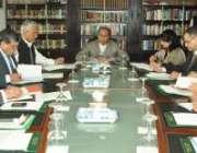 اسلام آباد، وفاقی وزیرخزانہ عبدالحفیظ شیخ سے کلپنا کوچر کی قیادت میں ..
