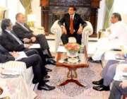 اسلامآباد، وزیراعظم راجہ پرویز اشرف سے انرجی کمیٹی کے ارکان ملاقات ..