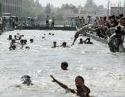 پشاور، عوام کی بڑ