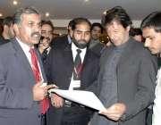اسلام آباد، تحریک انصاف کے چئیرمین عمران خان انٹرا پارٹی انتخابات ..