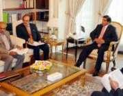 اسلامآباد، وزیراعظم راجہ پرویز اشرف توانائی بحران بارے کمیشن کے ..