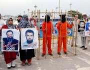 اسلامآباد، لاپتہ افراد کے اہلخانہ اپنے پیاروںکی واپسی کیلئے ڈی ..