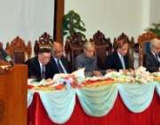 اسلام آباد، چیف جسٹس افتخار محمد چوہدری عالمی جوڈیشل کانفرنس کی اختتامی ..