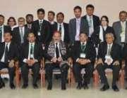 اسلامآباد، چیف جسٹس افتخار محمد چوہدری عالمی جوڈیشل کانفرنس کے شرکا ..