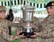 جہلم، آرمی چیف جنرل اشفاق پرویز کیانی پاک فوج کا فائرنگ مقابلہ جیتنے ..