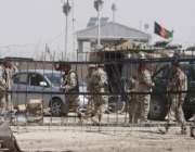 سپینبولدک، افغان فوجی پاک افغان دوستی بارڈر پر خودکش حملے کے بعد ..