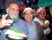 لاہور، پیپلزپارٹی کے بانی چئیرمین ذوالفقار علی بھٹو کی 86ویں سالگرہ ..