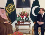 اسلام آباد: وزیر اعظم نوازشریف سے سعودی وزیر خارجہ سعود الفیصل ملاقات ..
