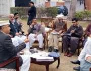 پشاور: صوبائی وزیر اطلاعات خیبرپختونخواہ شاہ فرمان پیسکو سے متعلق ..