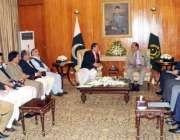 اسلام آباد، وزیراعلی گلگت بلتستان سید مہدی شاہ کی قیادت میں گلگت بلتستان ..